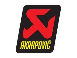 Akrapovič-Aufkleber